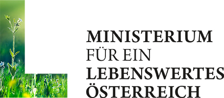 Logo of the Austrian Federal Ministry of Agriculture, Forestry, Environment and Water Management